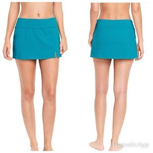 Lands End Swim Skirt Size 14